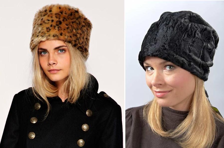 Как сшить зимнюю шапку своими руками